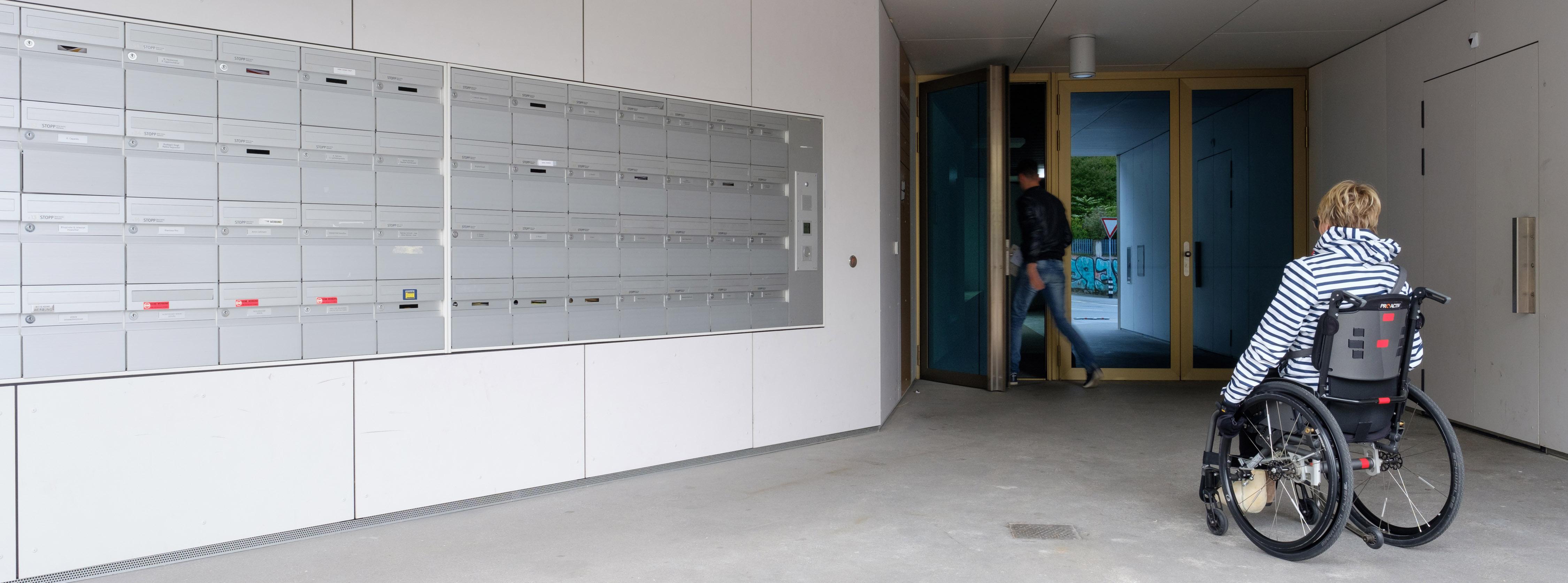 Sas D Entrée Interieur zones d'entrées dans les constructions avec logements